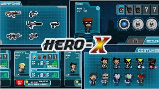 HERO-X - Android Gameplay HD