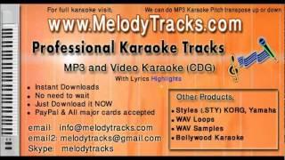 Yeh jo mohabbat hai ye unka hai KarAoke - www.MelodyTracks.com