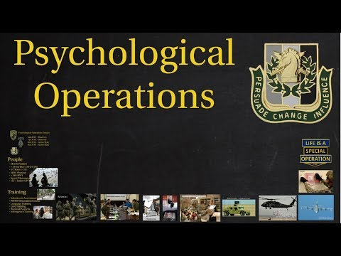 PSYOP Explained – What are Psychological Operations / Military Information Support Operations?