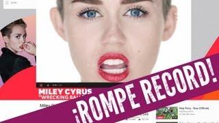 Miley Cyrus Destruye 1D y Psy en VEVO!