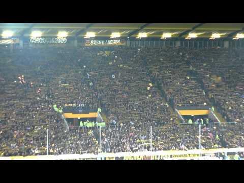 Atmosphäre Alemannia Aachen - Bayern München Pokal