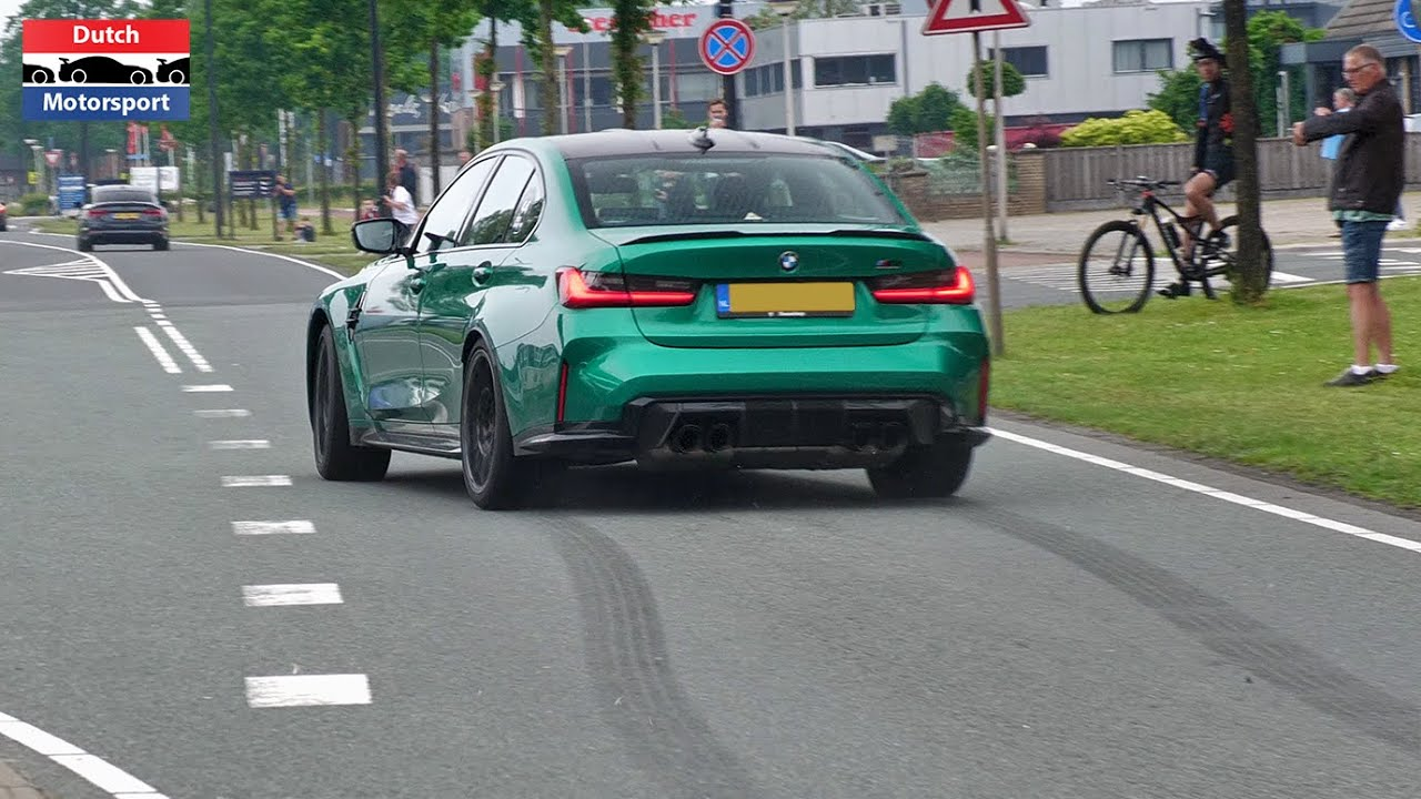 2021 BMW G80 M3 Competition - Powerslides & Accelerations!