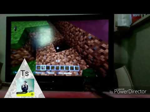 Ich zeige eine Stadt in Minecraft