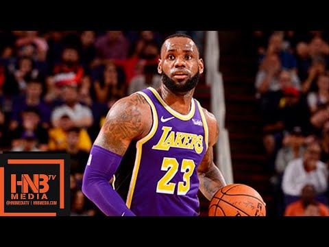 Los Angeles Lakers vs Phoenix Suns Full Game Highlights | 10.24.2018, NBA Season