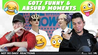 NSD REACT | GOT7 갓세븐 Funny And Absurd Moments