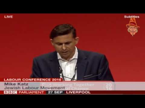 Jewish Labour Movement Heckled at Labour Party Conference