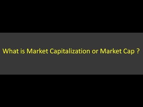6  What is Market Capitalization or Market Cap