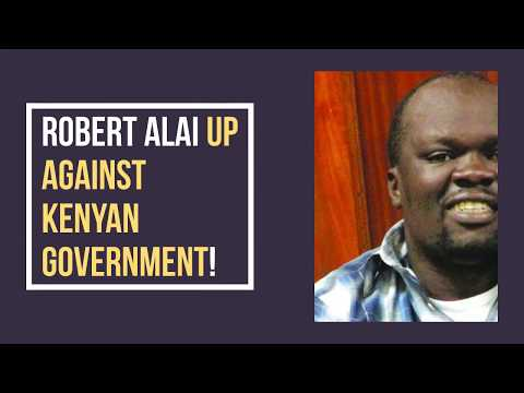 Robert Alai: The man who has been arrested almost every single year since 2014