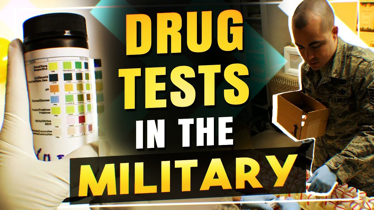 Drug tests in the military - #KGDT 016
