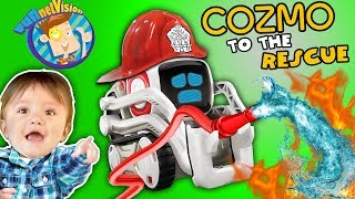 ROBOT SAVES BABY COZMO Playtime Artificial  Ntelligence Super Computer FUNnel Vis ON Fun