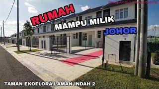 Cinematic Rumah Mampu Milik Johor 150k 18x70 Taman Ekoflora Laman Indah 2 Mukim Tebrau Youtube