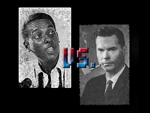 Black Power Vs White Power - part 06 - Kwame Ture (Stokely Carmichael ) vs George Lincoln Rockwell