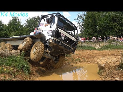 8x8 Mercedes-Benz truck in Europe truck trial | Off-Road | Langenaltheim, Germany| no. 402