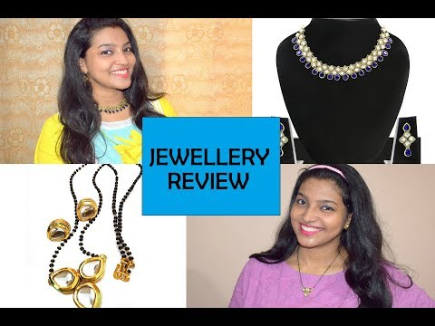 JEWELRY REVIEW FROM AMAZON || ZAVERI PEARLS