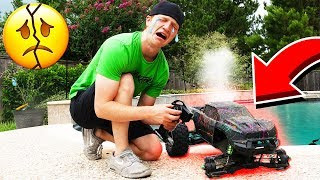 BREAKING MY 100MPH RC CAR!!