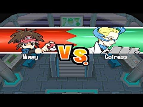 Pokémon Blaze Black 2 - Colress #3 (Final Battle - Challenge Mode)