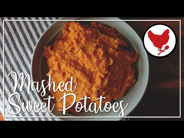 Recipe Teaser: How to make Mashed Sweet Potatoes