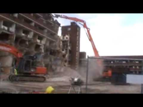 Demolition works by Southern Reclamation Market Estate N7