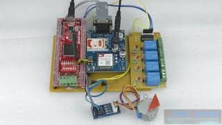 FPGA Implementation of GSM Based Home Automation System