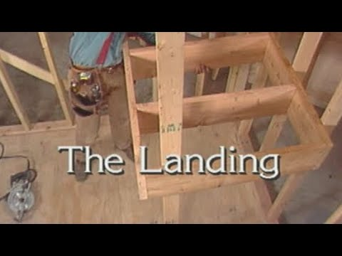 How To Build Landing Stairs