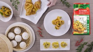 Planning to whip up some mouth-watering salted egg dishes? See how much easier it is to use Knorr Golden Salted Egg Powder instead of the traditional, ...