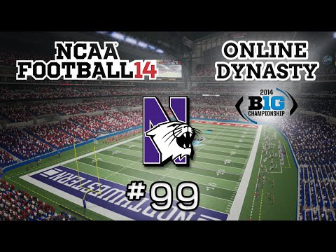 NCAA Football 14: Online Dynasty - E99 | S1G13 vs Indiana Hoosiers(BIG 10 Conference Championship)