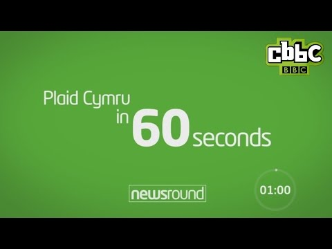 Plaid Cymru in 60 Seconds - CBBC Newsround