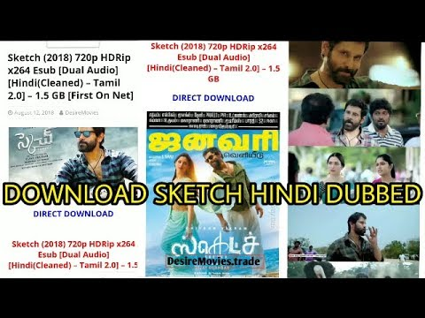 How To Download Hindi Dubbed Sketch Movie