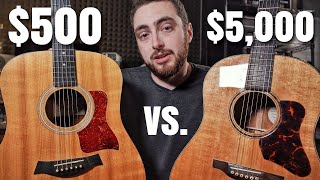 Can You Hear The Difference? First Acoustic vs. Dream Acoustic Guitar