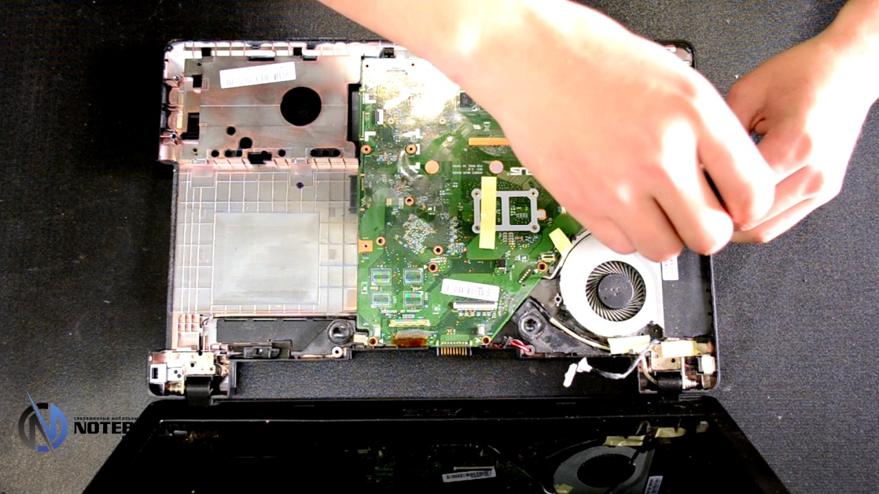 Asus X550c Disassembly And Cleaning Youtube