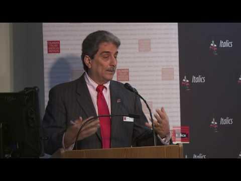 Vincenzo Milione's October 6 Panel - Welcome & Presentation