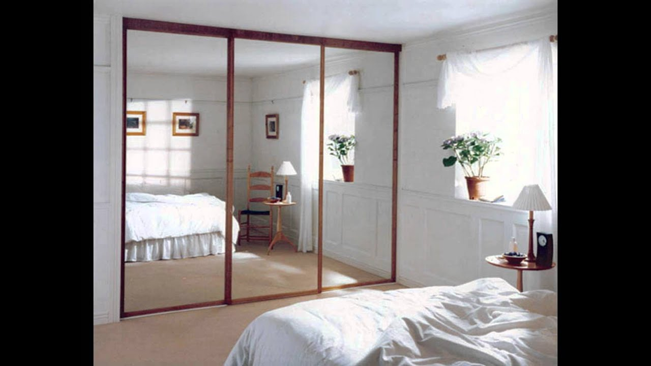glass bedroom wardrobe doors - youtube