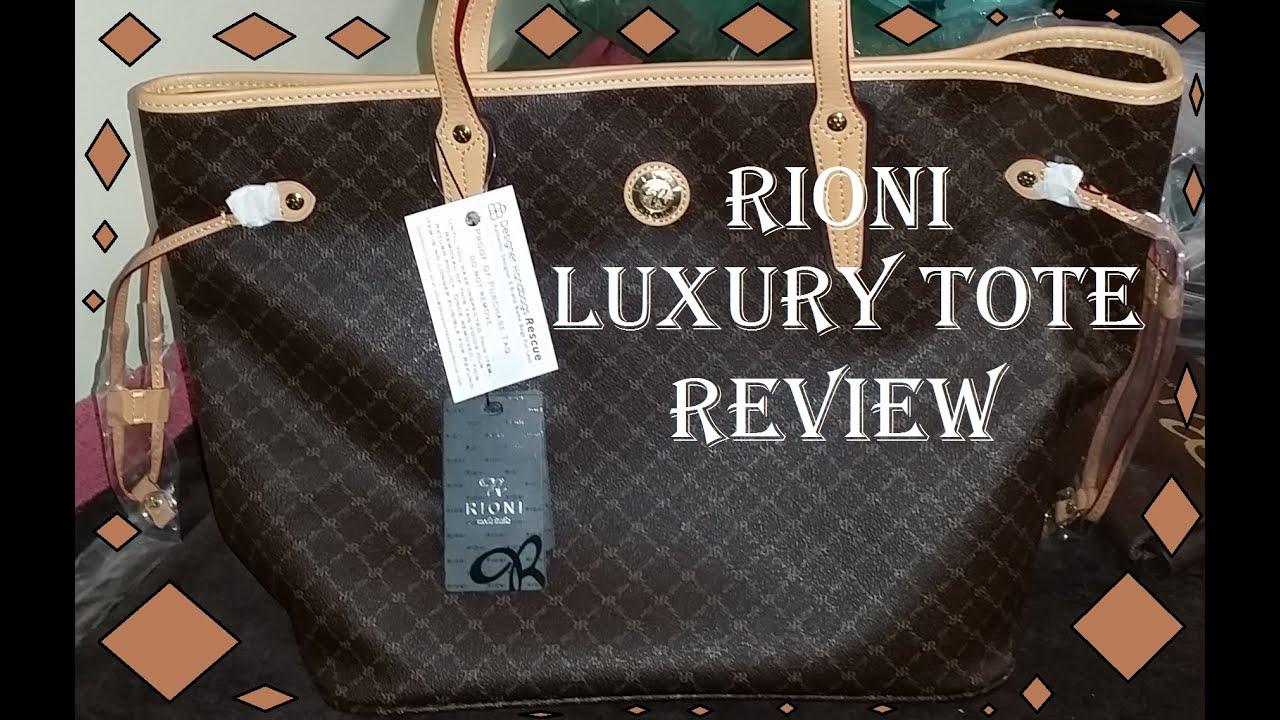 Rioni Medium Luxury Tote Review