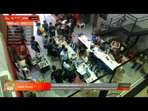FULL STREAM | VGC17 Pokémon Malaysia Premier Challenge Autumn #1