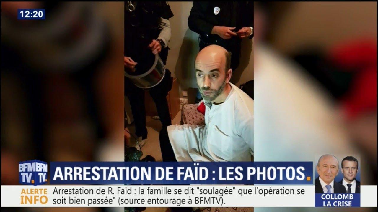 Les premières photos de l'arrestation de Redoine Faïd cette nuit à Creil
