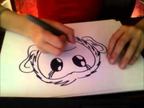Comment dessiner un singe youtube - Singe a dessiner ...