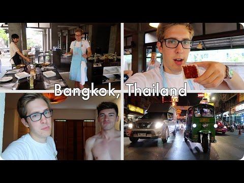 Thai Cooking in Bangkok and PUNS | Evan Edinger Travel Vlogger