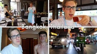 Thai Cooking in Bangkok and PUNS   Evan Edinger Travel Vlogger