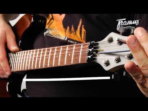 Framus Tutorial: Setup Of A Guitar With A Floyd Rose Tremolo