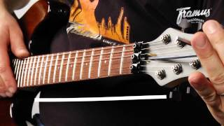 Framus Tutorial: Setup of a Guitar with a Floyd Rose Tremolo