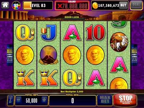 Pompeii Video Slot Casino Game With A Free Spin Bonus