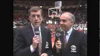 Brent Musburger's Final CBS Appearance 1990