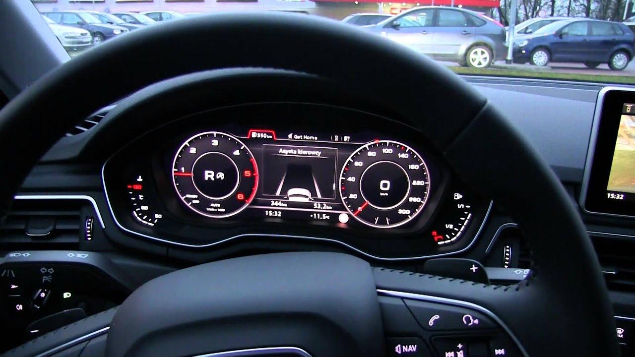 Audi A4 B9 Asystent Parkowania 1001cars Youtube