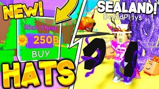 NEW BEST HATS AND SEALAND REBIRTH ZONE IN MAGNET SIMULATOR UPDATE! Roblox