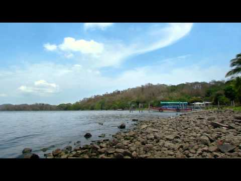 video 2 relax – lonesome Island in Nicaragua: Relaxing video with nature sound to meditate or yoga