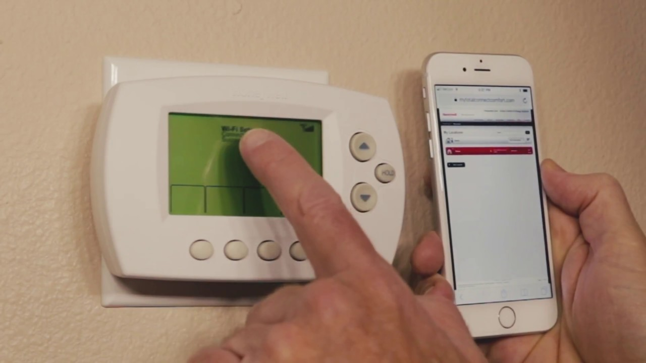 Honeywell Wi-fi Thermostat - Install And Set-up