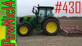 Kultywator Unia 3m & John Deere 6105MC Likwidacja rumianku! - Życie zwyczajnego rolnika #430
