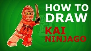 How To Draw Kai ( Ninjago ) Speed drawing