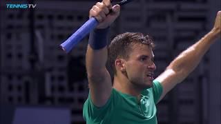 Grigor Dimitrov tiebreak winners & EPIC match point v Verdasco | Rogers Cup 2018