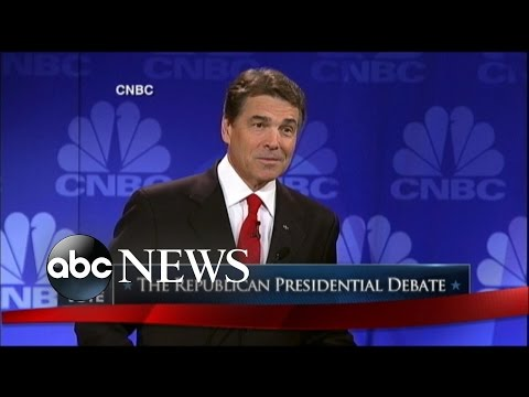 Rick Perry's 'Oops' Moment at 2011 Presidential Debate